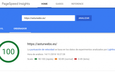 Nueva Interfaz PageSpeed Insights de Google